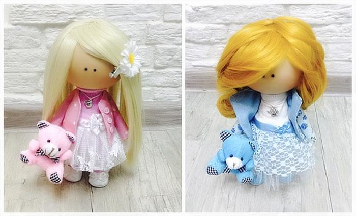 Интерьерные куколки мастер класс